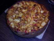 Apfel-Johannisbeer-Mascarponekuchen - Rezept