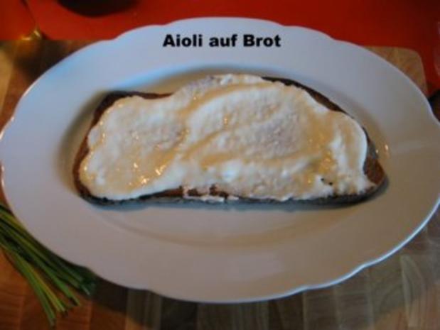 Buntes Gemüse  auf Steinofenbrot+ pochierte Eier - Rezept - Bild Nr. 4