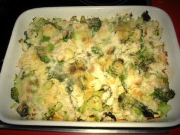 Rezept: Blumenkohl-Broccoli-Auflauf