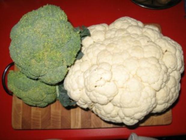 Blumenkohl-Broccoli-Auflauf - Rezept - Bild Nr. 2