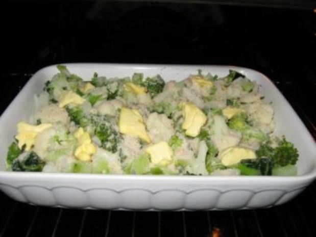 Blumenkohl-Broccoli-Auflauf - Rezept - Bild Nr. 8