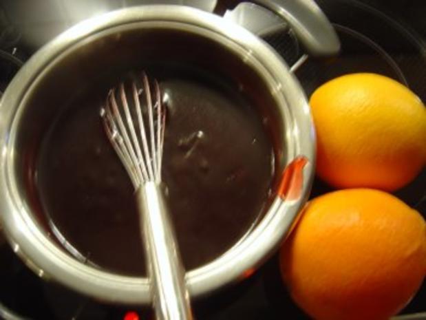 Rotweinsauce zum Weinachts-Auflauf - Rezept - Bild Nr. 4