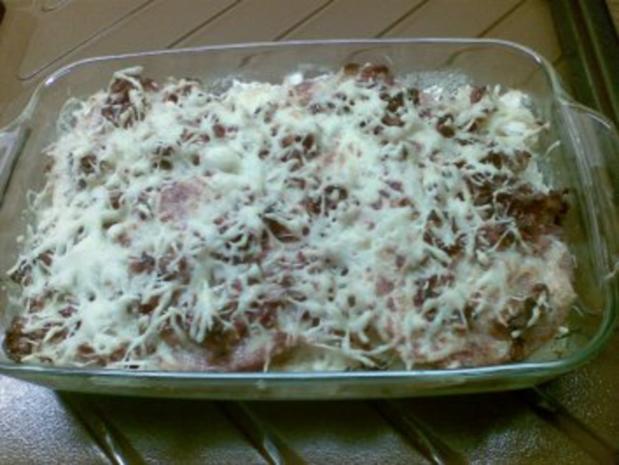 Krumbeerworscht-Ufflaaf ( Kartoffelwurst-Auflauf ) - Rezept - Bild Nr. 12