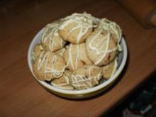 Schoko-Mandel-Cookies - Rezept