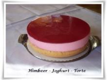 Himbeer - Joghurt - Torte - Rezept
