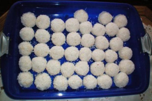 Schneebällchen - Rezept