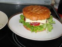"""Cheeseburger -  """"meine""""  Laktosefrei, wenn man entsprechende Produkte verwendet ! - Rezept"""