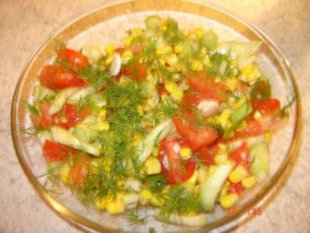 Dill-Salat - Rezept