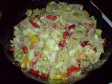 Bunter Partysalat mit Thunfisch - Rezept
