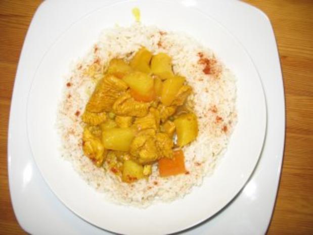 Pute in Curry - Rezept - Bild Nr. 2