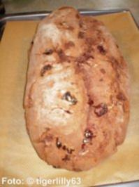 Weihnachten: Schoko-Butter-Stollen - Rezept