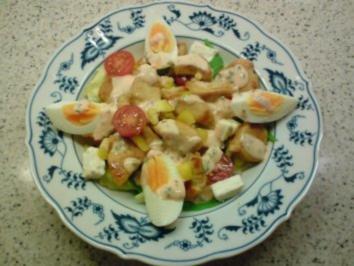 Frische salate ohne mayonnaise