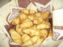 Mini - Croissants - Rezept