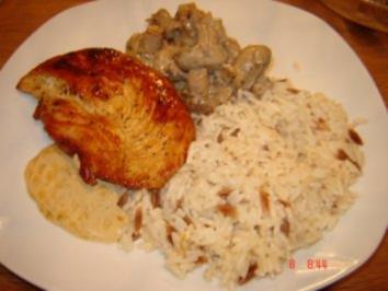 Honig Hühnchen - Rezept
