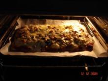 Hack-Bechamel-Pizza - Rezept