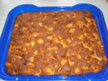 7 apfelkuchen vom blech mit apfelmus und pudding rezepte. Black Bedroom Furniture Sets. Home Design Ideas