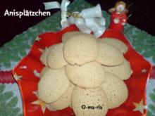 Kleingebäck  Anisplätzchen - Rezept