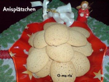 Rezept: Kleingebäck  Anisplätzchen