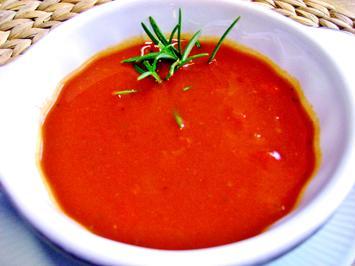 Tomatensuppe mit Wein - Rezept - Bild Nr. 2
