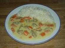 Karotten-Putenragout - Rezept