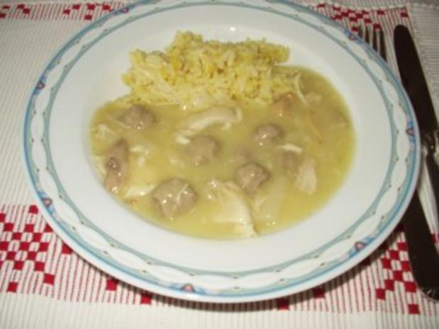 Curryreis - Rezept