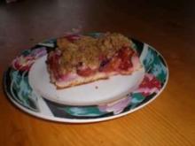 Schneller,  einfacher Zweschgenkuchen - Rezept