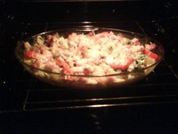 Kartoffeln: Kartoffel-Mangold-Sahne-Gratin - Rezept