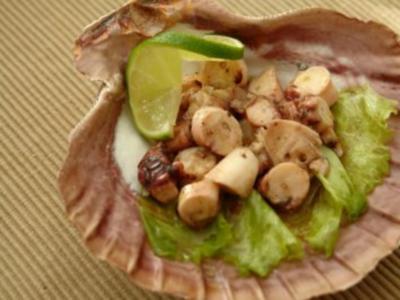 Oktopus Salat - Rezept
