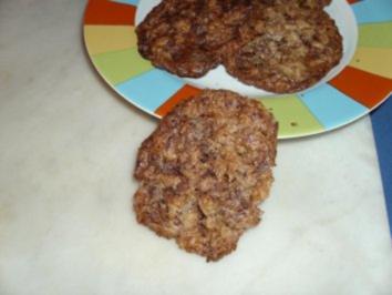 Turbo-Haferflocken-Schoki-Cookies - Rezept