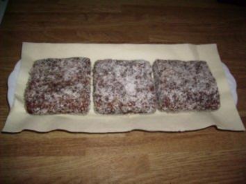 Kokos-Schnitten - Rezept