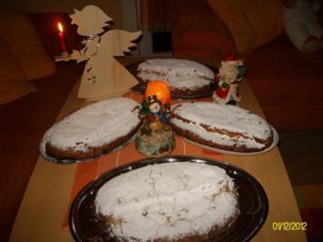 Thüringer Butterstollen Weihnachtsstollen - Rezept - Bild Nr. 2