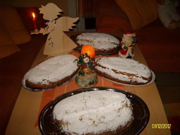 Thüringer Butterstollen Weihnachtsstollen - Rezept - Bild Nr. 3