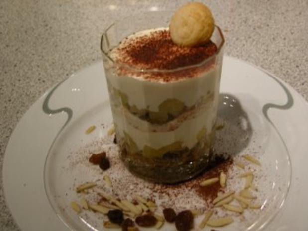 Dessert - Bratapfel Tiramisu - Rezept