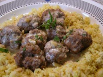 Couscous mit Zitronen-Lorbeer-Sauce - Rezept