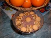 Dessert.......Schoko-Pudding.........SCHNEEROSE - Rezept