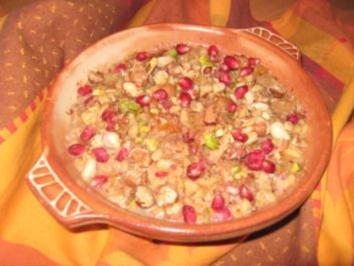 Rezept: Noahs Süßigkeit...eine türkische Süßspeise