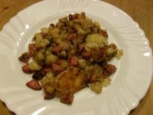 Bratkartoffeln mit Kabanossi - Rezept