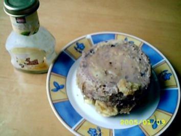 Käsekuchen: kleine lila Sünde aus der Mikrowelle - Rezept