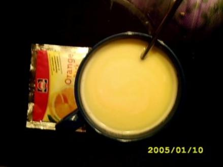 Heiße Weiße: Orangenwölkchen - Rezept