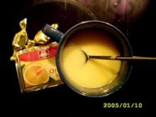 Heiße Weiße:Orangenwölkchen deluxe - Rezept