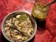 Camembert im Glas - Rezept