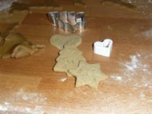 Pfefferkuchen-Plätzchen - Rezept