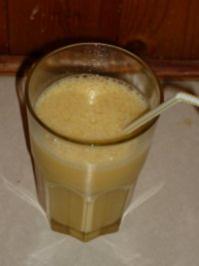 Mango-Maracuja-Milch - Rezept