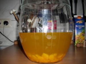 Gelbe Bowle - Rezept
