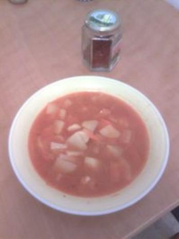 türkische Kartoffelsuppe - Patates corbasi - Rezept