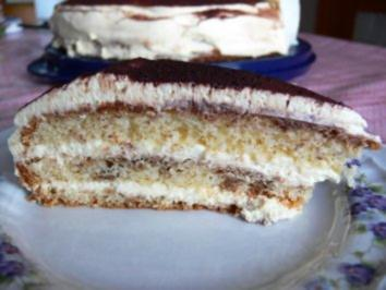 Kuchen: Cappuccino-Torte - Rezept