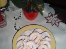 Pudding-Kipferl - Rezept