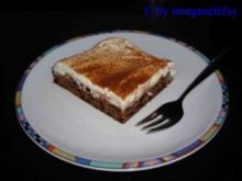 Birnen-Schoko-Blechkuchen - Rezept