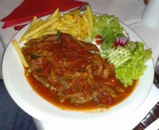 Feuerfleisch - Rezept