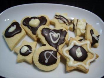 Rezept: Keks & Co:   Herze, Sterne und ...